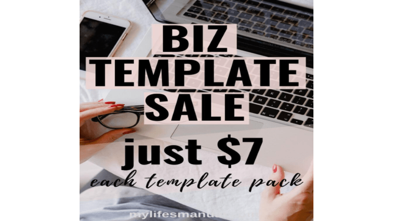 Attention MI Business Owners! Get Your October Biz Templates…Sale Ends 10/25/19!!