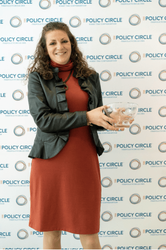 Kristin Fair Combs of Michigan Earns National Award from Women's Policy Organization