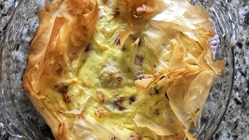 Grandma's Homemade Italian Easter Pie