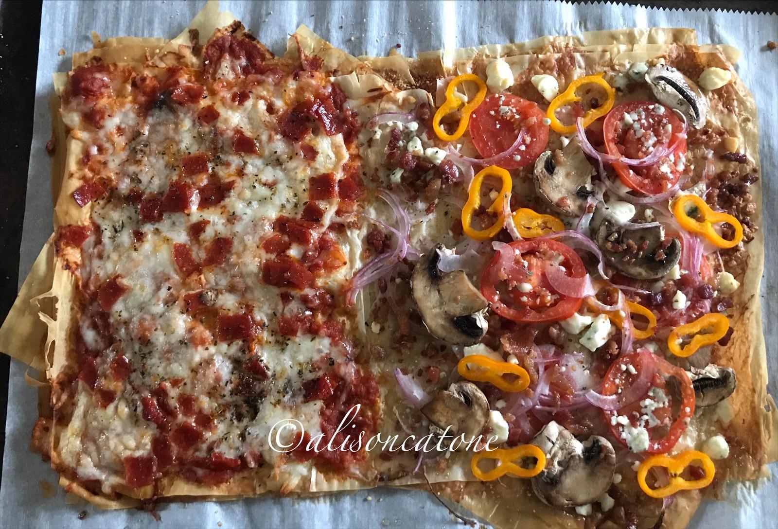Phyllo Crust Pizza Recipe