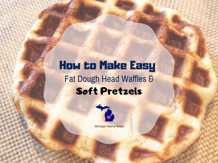 How to Make Easy Fat Head Dough Waffles & Soft Pretzels
