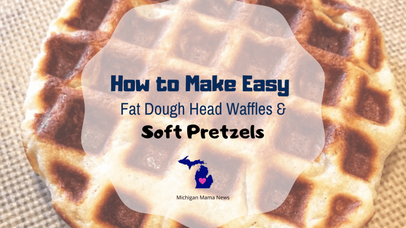 How to Make Easy Fat Head Dough Waffles & Soft Pretzels