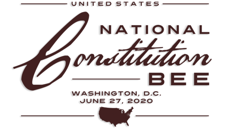 Kids National Constitution Bee June 27, 2020-{Michigan Constitution Bee in April}