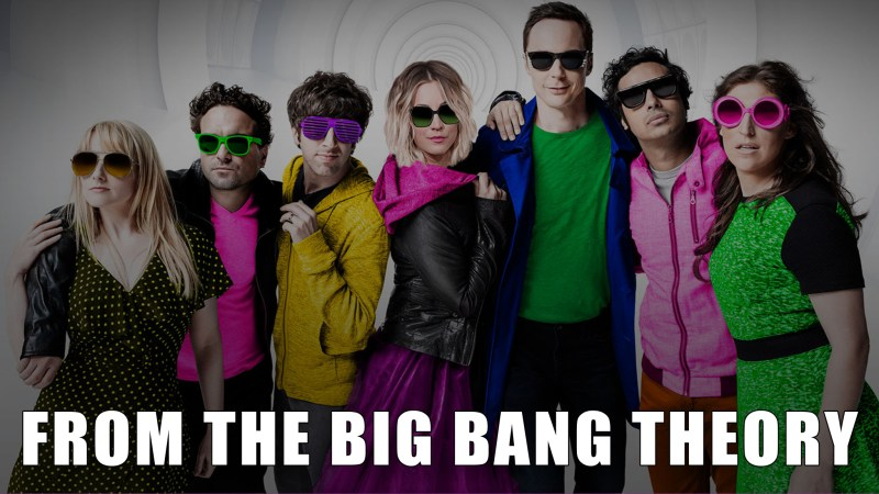 Happy Easter from the Big Bang Theory