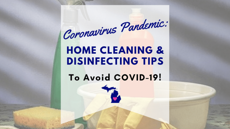 Coronavirus Pandemic: Cleaning and Disinfecting Tips to Avoid Covid-19