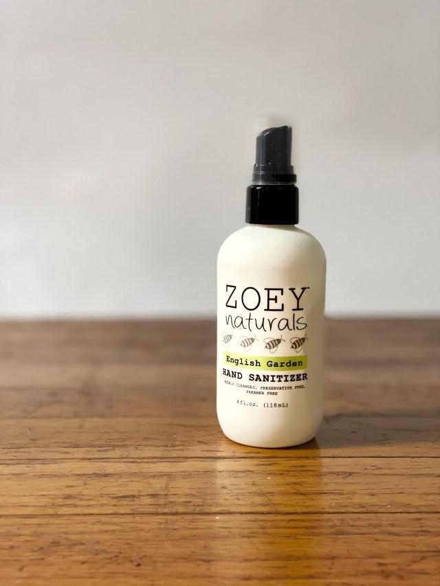 Zoey Naturals Hand Sanitizer