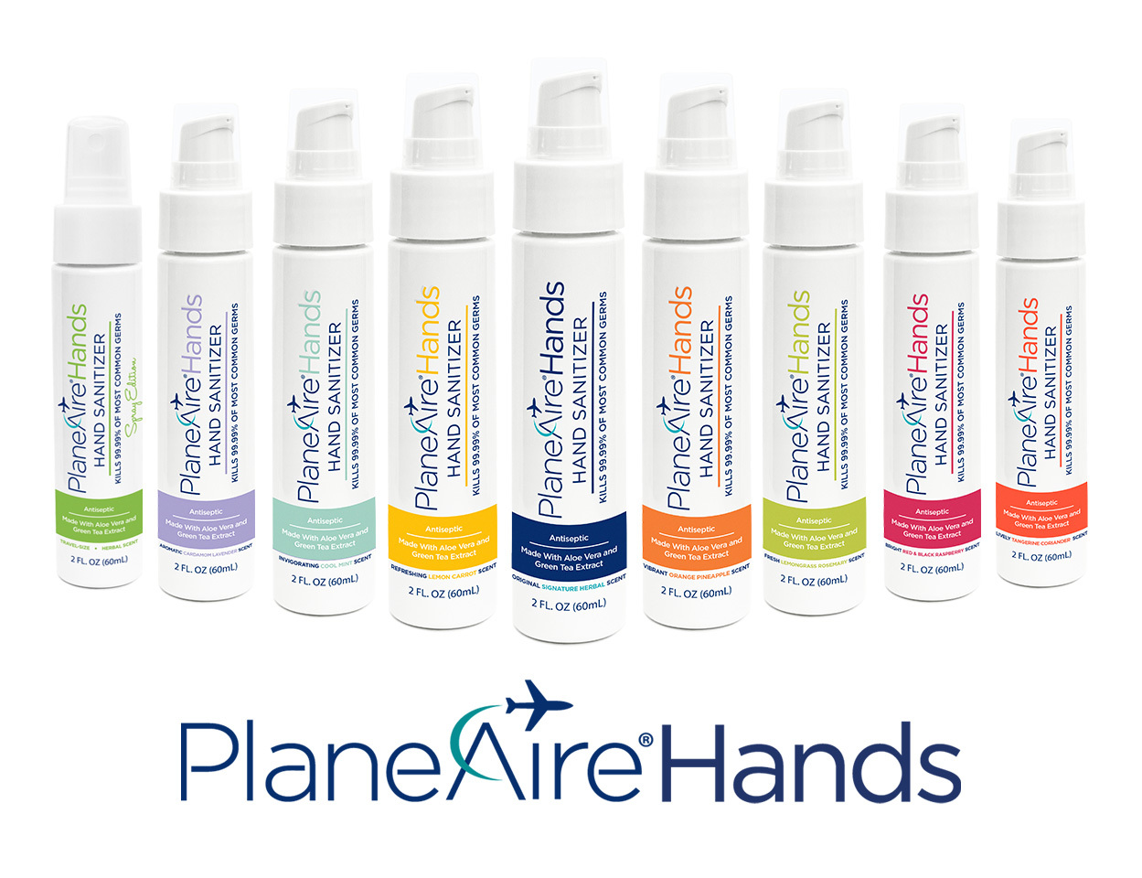 New Vegan Hand Sanitizers by PlaneAire®