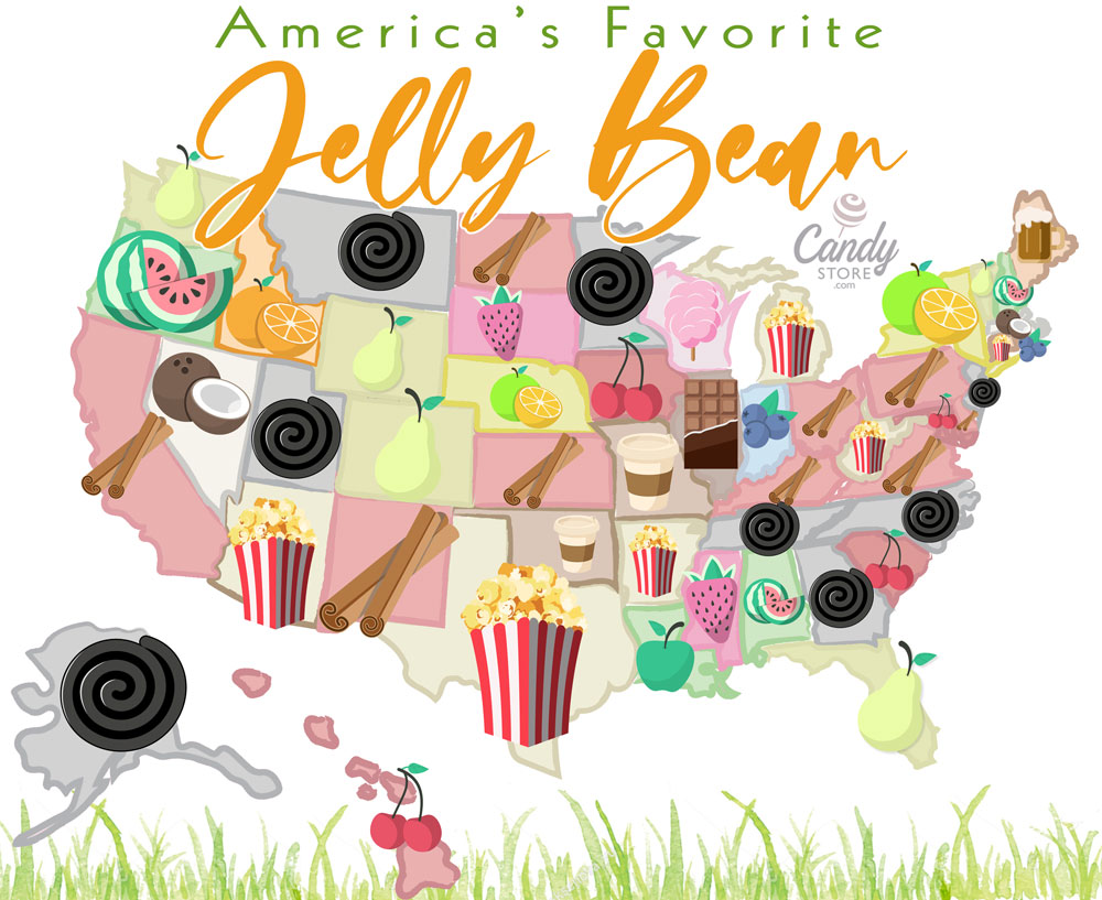 Jelly Beans Map 2021