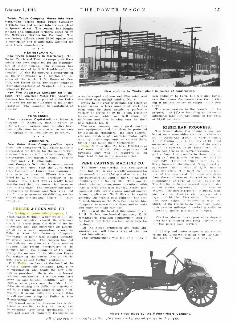 Transmission –   Mighty Michigan 40, Michigan Motor Car Company ...