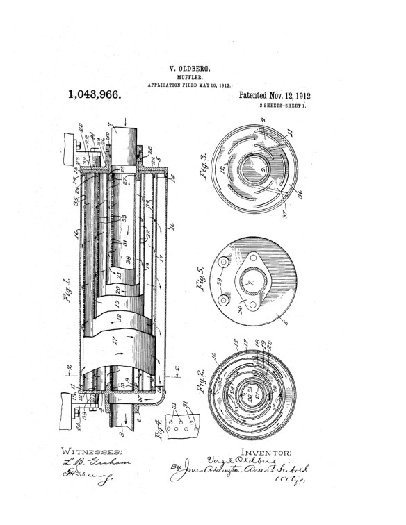 OLDBERG Patent