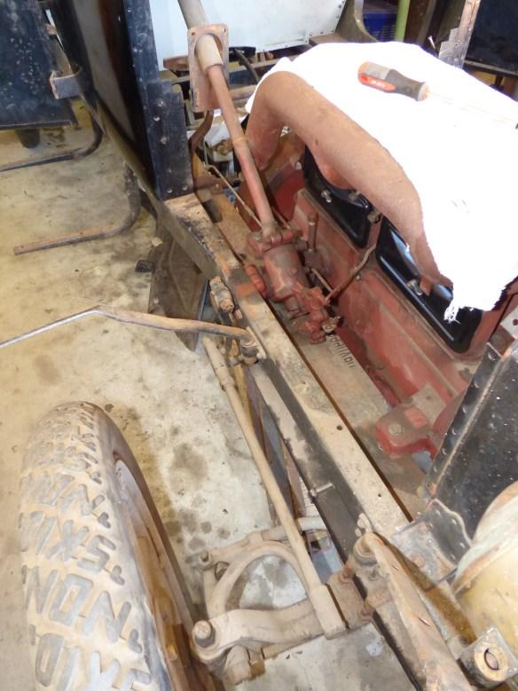 Wheel, steering, column engine