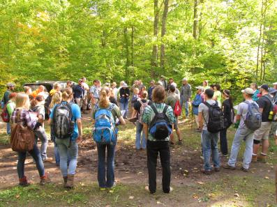 MNA partnered with Lake Trust Credit Union to provide education mini-grants to teachers for nature field trips. [Photo: Nancy Leonard]