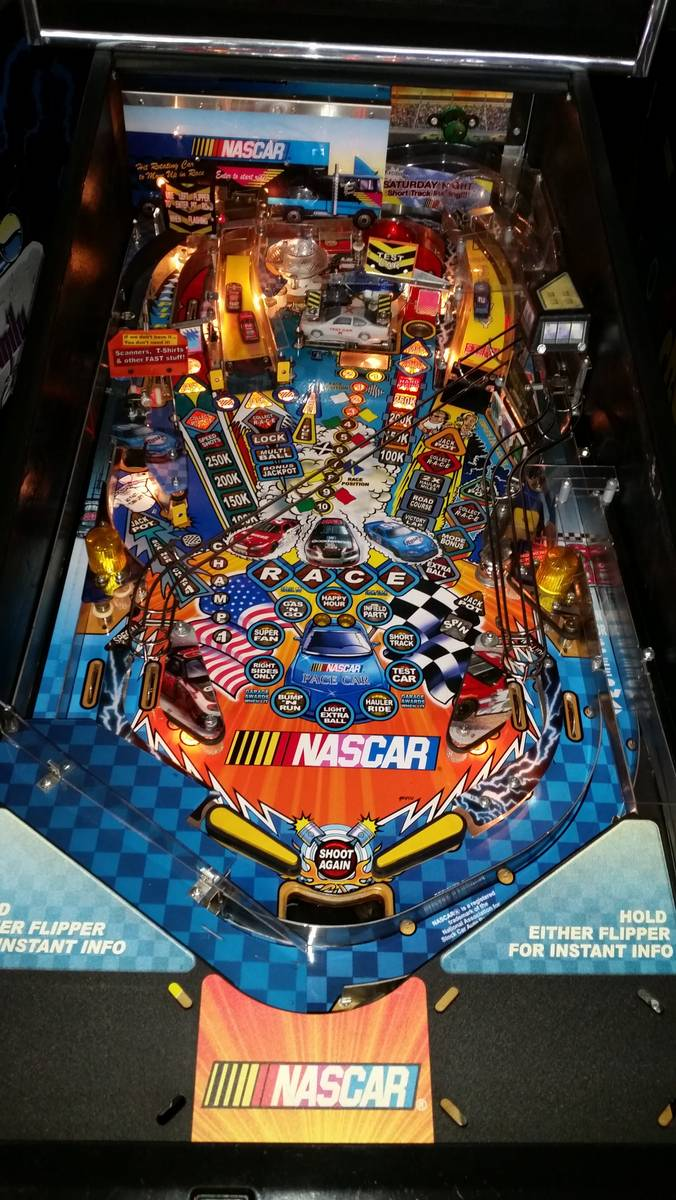 stern nascar pinball for sale