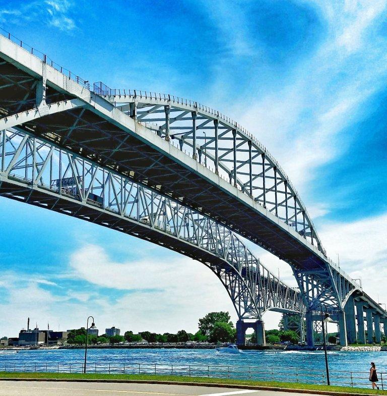 Blue Water Bridges