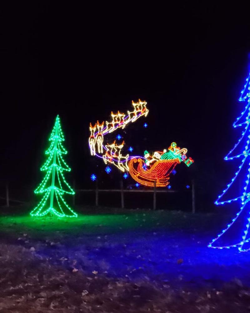 Christmas Light Shows - Michigan Travelist