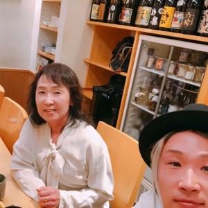 人生初の母親と2人での外食