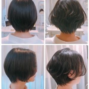 【直毛 猫っ毛】ショートヘアにはショートヘア専用のパーマだよ。