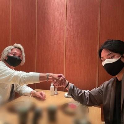 木村直人氏と柳本剛氏と僕。