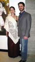 Michiko Maruyama and Blake Fillion