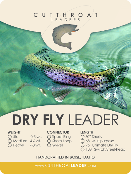 Cutthroat Leader Company furled leaders