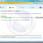 Premières impressions écran de Morro l'antivirus gratuit de Microsoft
