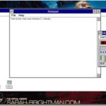 Decouvrez ou re-decouvrez Windows 3.1 dans votre navigateur