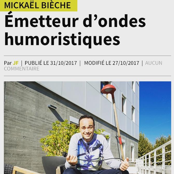 Bièche Humoriste Grenoble