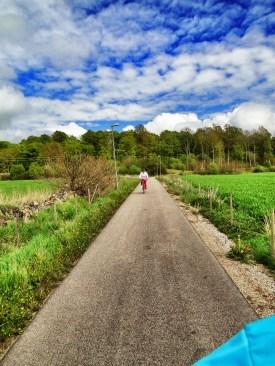 Ania w szwedzkim polu :)