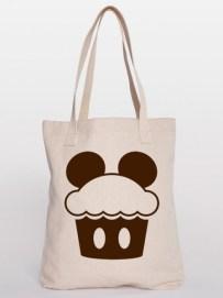 Disney Cupcake Tote Bag 450x600 - Types Of Custom Tote Bags