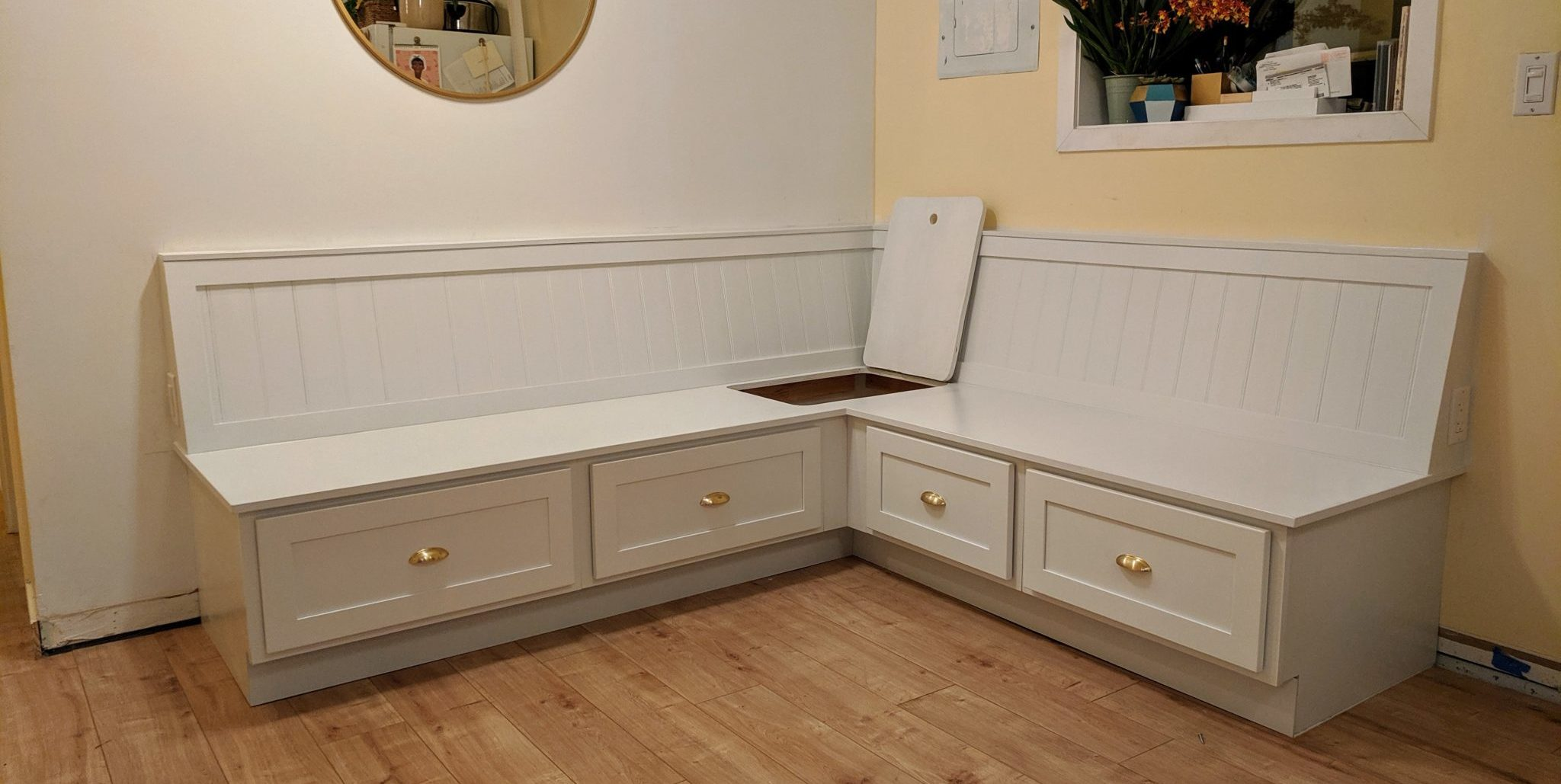 Picture of: How To Build Banquette Bench Seating Mickey Kay