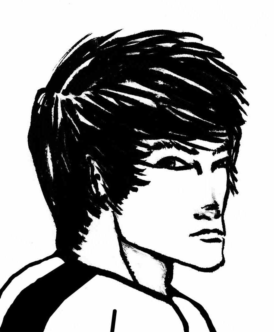 Couldn't resist a Bruce Lee sketch!