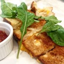 Grilled Three-Cheese Sandwich