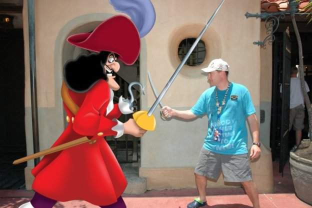 capt hook photopass walt disney world