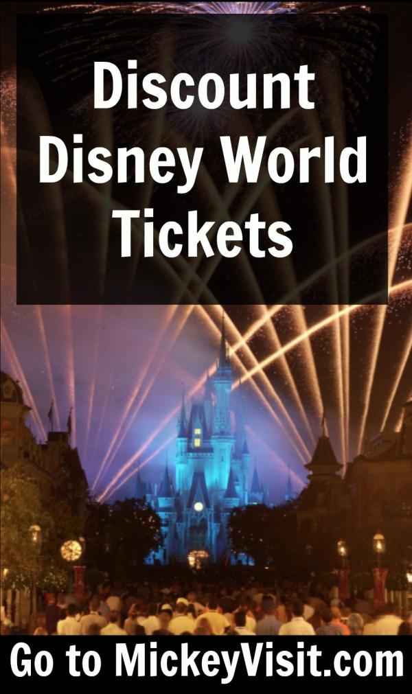 Find Discount Disney World Tickets: Get Them Cheap