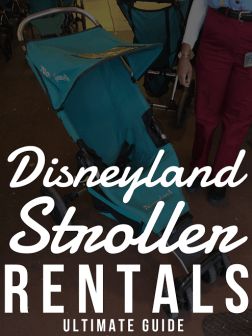 disneyland stroller rentals