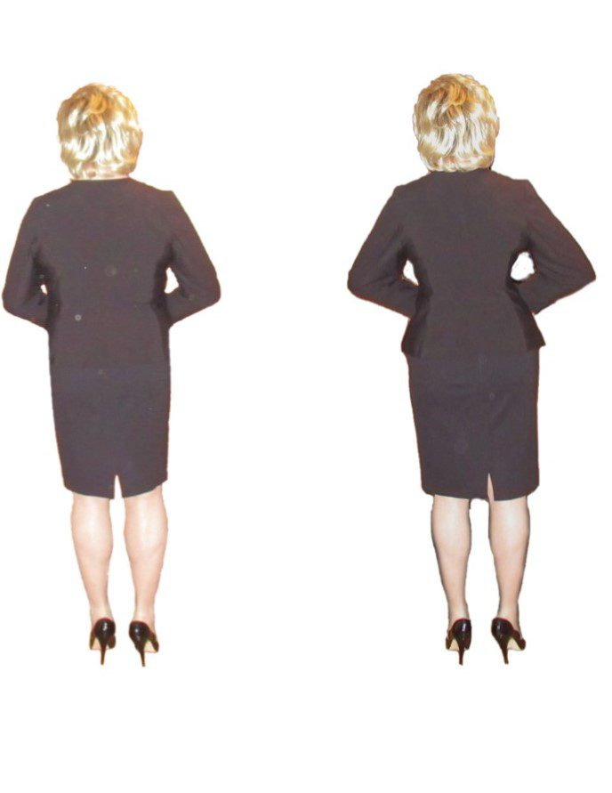Crossdresser female shape