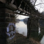 Spur Bridge from Pencoyd Site to Venice Island, Manayunk