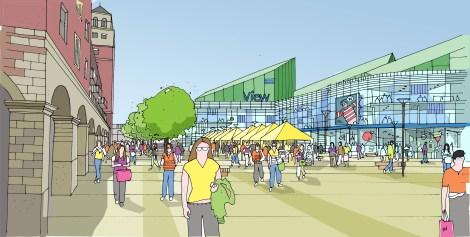 New Market Square. Wolverhampton Town Centre Master Plan.