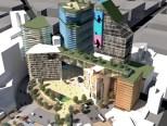 New Sony Centre. Mexico City master plan.