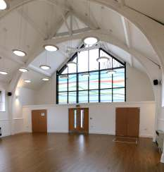 Chorlton Central: The new community hall