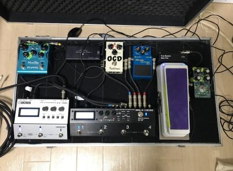 BOSS VE-500 Vocal Performerをライブで使ってみた