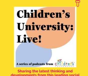Portfolio Children's University: Live! podcast logo