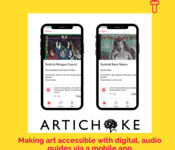 Portfolio Artichoke podcast logo