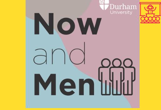 Portfolio Now and Men podcast logo
