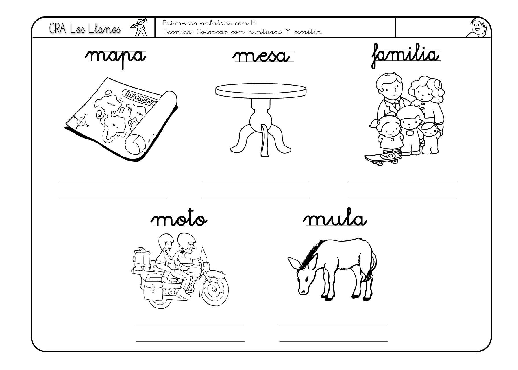 Lengua Fichas Para Descargar E Imprimir