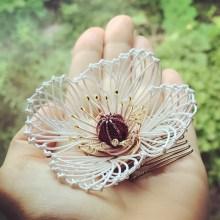 花モチーフ飾り