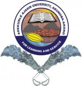 Official list of courses offered in Ajasin University, Akungba-Akoko AAUA