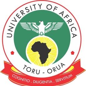 University of Africa Toru Orua UAT Admission List