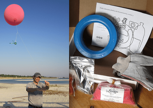[Balloon & Kite Mapping by Public Lab] for engaging the community in neighborhood environmental issues and broker influence using the visual power of maps.