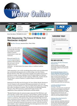 water online future analysis